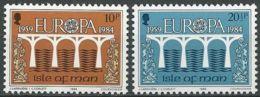 ISLE OF MAN 1984 Mi-Nr. 261/62 ** MNH - CEPT - Europa-CEPT