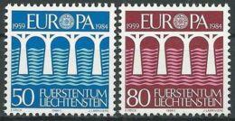LIECHTENSTEIN 1984 Mi-Nr. 837/38 ** MNH - CEPT - 1984