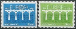 MONACO 1984 Mi-Nr. 1622/23 ** MNH - CEPT - Europa-CEPT