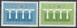 NIEDERLANDE 1984 Mi-Nr. 1251/52 ** MNH - CEPT - Europa-CEPT