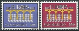 SAN MARINO 1984 Mi-Nr. 1294/95 ** MNH - CEPT - Europa-CEPT