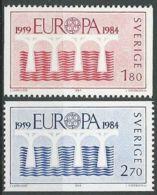 SCHWEDEN 1984 Mi-Nr. 1270/71 ** MNH - CEPT - Europa-CEPT