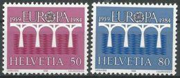 SCHWEIZ 1984 Mi-Nr. 1270/71 ** MNH - CEPT - Europa-CEPT