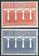 SPANIEN 1984 Mi-Nr. 2633/34 ** MNH - CEPT - Europa-CEPT