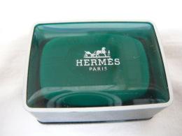 """HERMES """" EAU D'ORANGE VERTE"""" MINI SAVON + BOITE LIRE ET VOIR !! - Miniatures Womens' Fragrances (without Box)"""