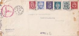 FRANCE 1942 DEVANT DE LETTRE CENSUREE DE PARIS - 1921-1960: Modern Period