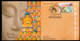 India 2018 Buddha Purnima Vesak Festival Buddhism Religion Special Cover # 18487 - Buddhismus