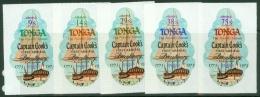 Tonga: 1973   Bicentenary Of Captain Cook's Visit To Tonga   SG459-468     MNH - Tonga (...-1970)