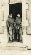 Regiment Carte Photo (Coupée) Tankiste    Ref 1616 - Régiments