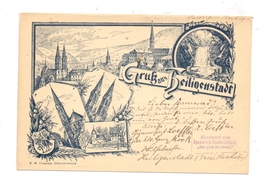 0-5630 HEILIGENSTADT, Gruß Aus..., 1895, Frühe Karte - Heiligenstadt