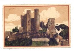 0-5631 BORNHAGEN / Eichsfeld, Burg Hanstein, 1911 - Heiligenstadt