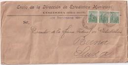 ARGENTINE  LETTRE DE CORDOBA POUR BERNE - Storia Postale
