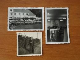 WW2 GUERRE 39 45 LORIENT BRETAGNE MAISON DES SOUS MARINIERS MARINS ALLEMANDS  ECOLE KEROMAN SALON MARIN - Lorient
