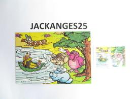 KINDER PUZZLE K99 N 123 1998 + BPZ - Puzzles