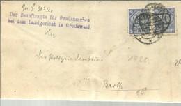 LETTER 1920GREIFSWALD - Deutschland