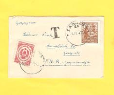 Old Letter - Yugoslavia - Other