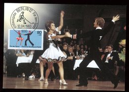 Allemagne - Carte Maximum 1983 - Danse - [5] Berlijn