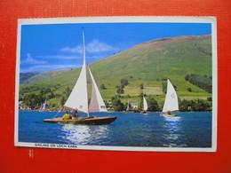 Sailing On Loch Earn - Kinross-shire