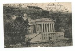 Cpa 74 L'argentiere Le Tribunal Vu De La Terrasse Du Chateau - Largentiere