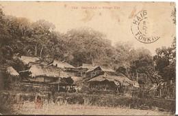 CPA - VIET NAM - TONKIN - Village Tho - 1908 - - Viêt-Nam