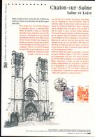 2015, DOCUMENT OFFICIEL DE LA POSTE: Chalon Sur Saone, Saone Et Loire - Documents Of Postal Services