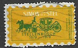 S.Africa, Simon Stell, / Stellenbosch 1679 - 1979 - Commem Label - South Africa (1961-...)