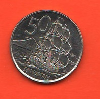 Nuova Zelanda 50 Cents Navir Nave 2006 New Zeland - Nouvelle-Zélande