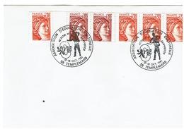 GANDON N° 1968x3 - 1945x2 Commemoratif ASSOCIATION D'EDUCATION CULTURELLE - 59 TEMPLEMARS - 17-18 OCT 1981 - Marcophilie (Lettres)