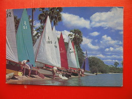 Palm Beach,Lake Nyasa.Sailing - Malawi