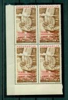 TAAF-1948 -Neuf,  ** ,mint (Madagascar Surchargé Terre D´Adelie , PA 1 **, Bloc De 4 ,CdF (cote 220,00€ +) - Terres Australes Et Antarctiques Françaises (TAAF)
