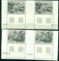 TAAF-1972-Neuf,  ** ,mint ,MNH Postfrisch # Découverte Iles  Crozet /Kerguelen PA 27-28**  PAIRE- BDF,cote 424,00 € - Neufs