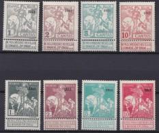 Belgie  .  OBP    .    92/99   .    **  .    Postfris ZONDER Charnier  .   /   .   Neuf SANS Charniere - 1910-1911 Caritas