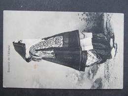 AK ALBANIA Souvenir De L'Albanie Ca. 1915 Tracht Costumi  ///  D*34477 - Albanien