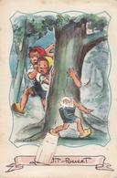 GERMAINE BOURET     ILLUSTRATEUR ENFANT   CARTE A SYSTEME GRAND FORMAT - Bouret, Germaine
