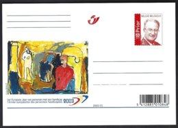 EP 2003 N° 86 (catalogue Des Entiers Postaux) (0,49€) Albert II , Année Européenne Des Personnes Handicapées    ** - Cartes Illustrées