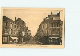 YVETOT - Rues De L' Eglise Et Bellanger - 2 Scans - Yvetot