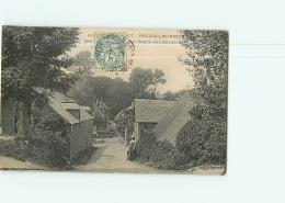 VEULES Les ROSES - Chemin De L' Abreuvoir - Animée - 2 Scans - Veules Les Roses