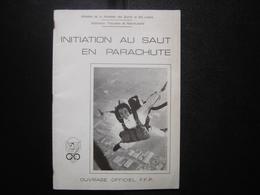 Initiation SAUT PARACHUTE Annees 80's Militaria ARMY - Armes