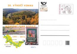 Rep. Ceca / Cart. Postali (Pre2016/30) Podyji - Parco Nazionale (1991), Formazione Per Il 25 ° Anniversario - Geografia