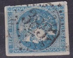 France, Tarn Et Garonne - GC 383 De Beaumont De Lomagne Sur Yvert N° 46B - Poststempel (Einzelmarken)