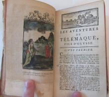 François De Salignac De La Mothe Fénelon - Les Aventures De Télémaque, Fils D'Ulysse - 1791 - Plusieurs Gravures - Livres, BD, Revues