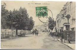 46-SOUILLAC-Le Boulevard...1913  Animé - Souillac