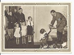 Dt.- Reich (001577) Propaganda Ganzsache P278/04 Adolf Hitler Mit Kindergruppe Sonderstempel Memel Am 20.4.1937 - Germany