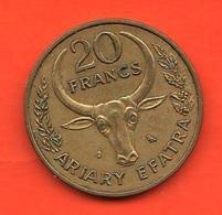 Madagascar 20 Francs 1970 Malagasy - Madagascar