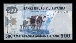 Ruanda Rwanda 500 Francs 2013 Pick 38 SC UNC - Ruanda
