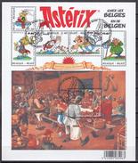 BELGIQUE 2005 Nº 3418/23 EN HB USADO 1º DIA - Bloques 1962-....