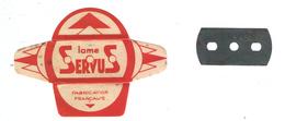 Lame De Rasoir Française SERVUS - French Safety Razor Blade Wrapper - Razor Blades