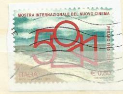 Italia 2015, Mostra Internazionale Del Nuovo Cinema (o) - 6. 1946-.. Repubblica