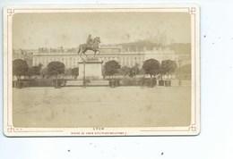 Lyon Statue De Louis XIV ( Photo Avant 1900 ) - Photographs