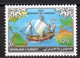 Sello Nº 694 Djibouti - Barcos